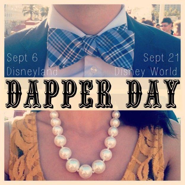 Mariage - Dapper Day At Disney: A Fashionable Affair