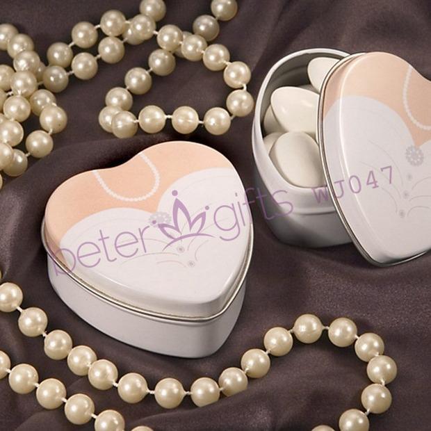 Свадьба - Bride Wedding Dress Tin,Chocolate Candy Box, Favor Bag WJ047