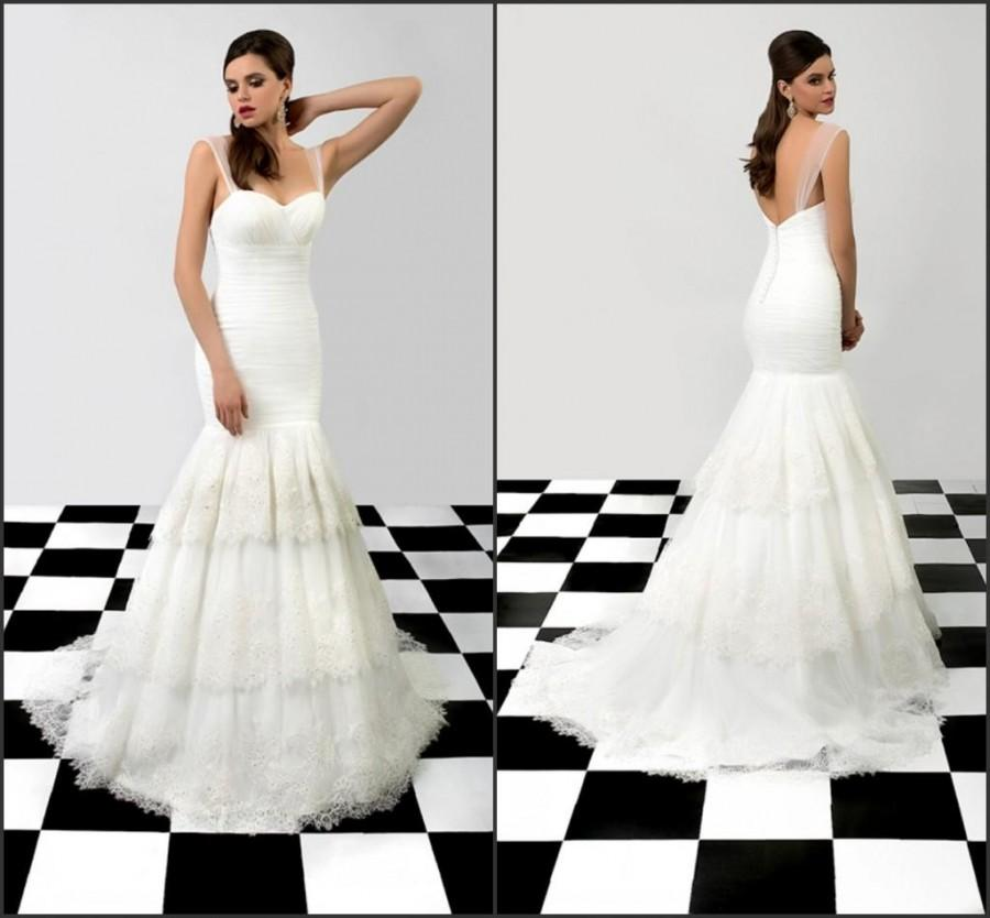 Wholesale Mermaid Wedding Dresses - Buy 2015 Newest Bien Savvy ...