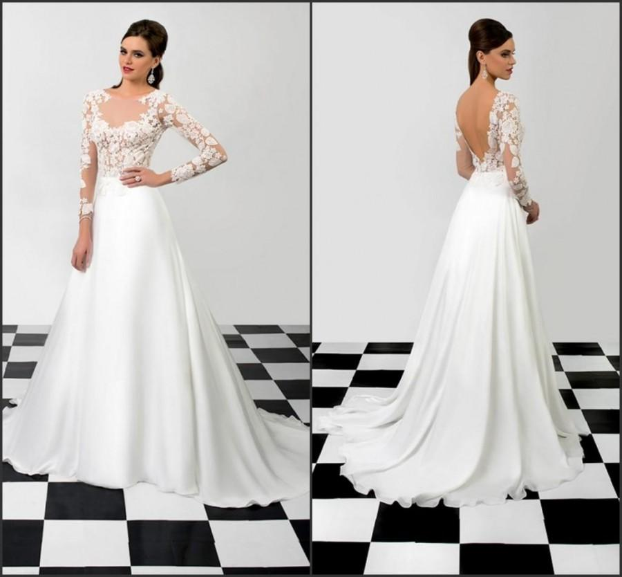 Wholesale a line wedding dresses buy modest wedding for Cheap modest wedding dresses with sleeves