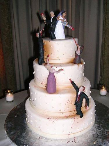 Zombies/Corpse Bride Wedding Theme Inspiration #2213392 - Weddbook