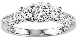 Mariage - FINE JEWELRY 1 CT. T.W. Three-Stone Diamond Engagement Ring