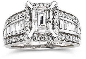 Mariage - FINE JEWELRY Harmony Eternally in Love 1 1/2 CT. T.W. Diamond Engagement Ring