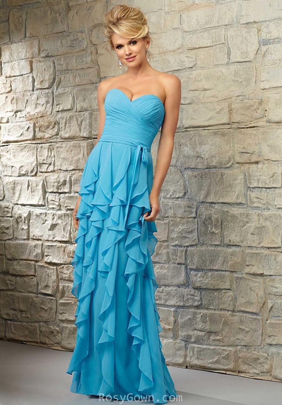 Wedding - Chiffon Bridesmaid Dresses - Rosygown
