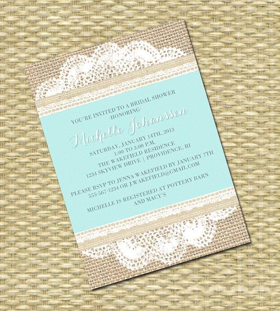 Wedding Invitations Burlap And Lace was amazing invitation example
