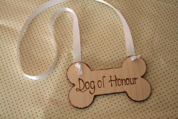 Mariage - Wedding Dog Collar, Dog of Honour, Pet collar, Wedding accessory for Pets