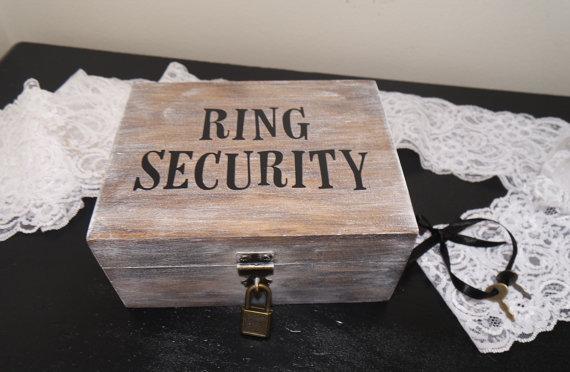 Ring Security Ring Bearer Wedding Ring Box Ring Bearer Ring Box