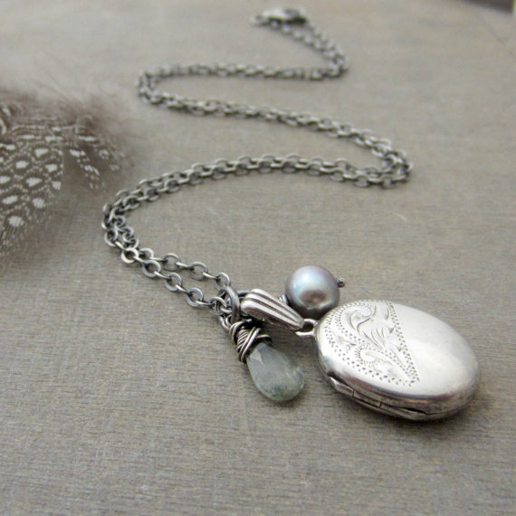 Sterling silver locket necklace oval locket silver gemstone locket sterling silver locket necklace oval locket silver gemstone locket jewelry vintage locket pendant birthstone locket silver bridal locket aloadofball Images