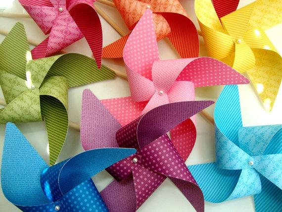 Hochzeit - pinwheels