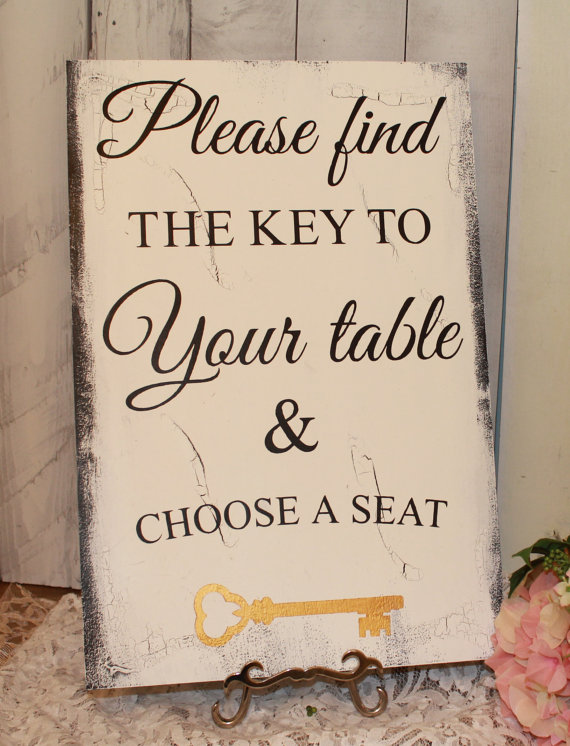 Wedding Signs/ Reception Tables/Seating Plan/Seating Assignment ...