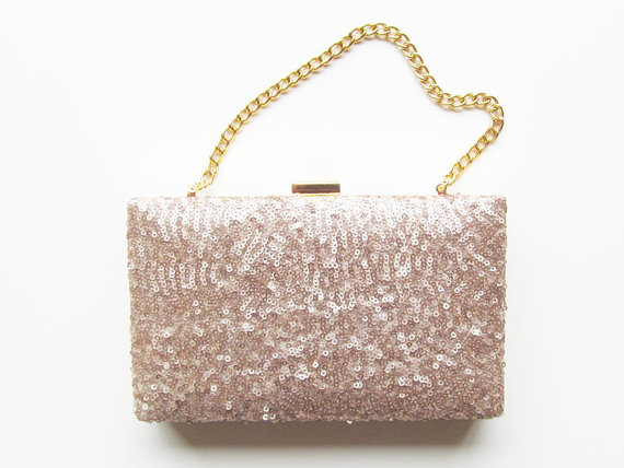 Свадьба - Blush Box Clutch