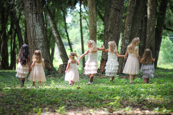 Flower Girl Dresses Cream