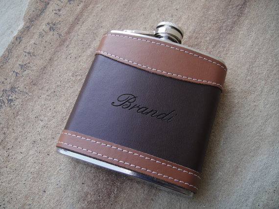 personalized flask leather flasks custom flask engraved flask
