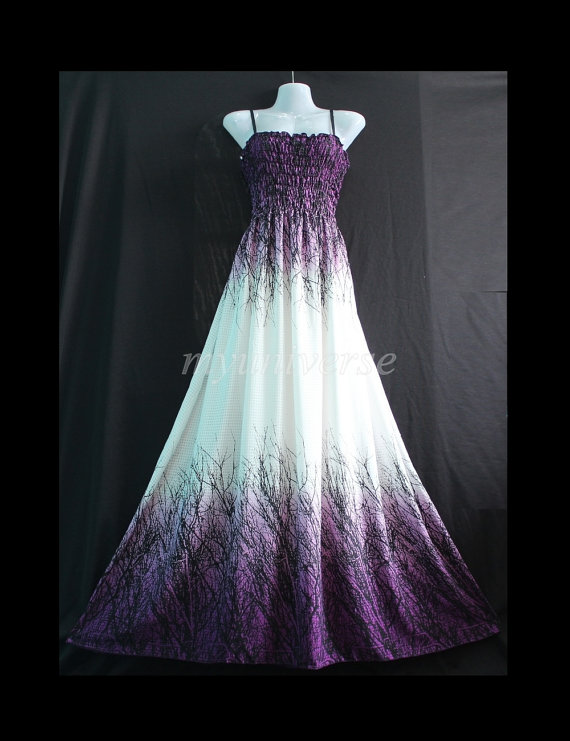 Maxi Dress Purple Bridesmaid Dress Women Plus Size Prom Long ...
