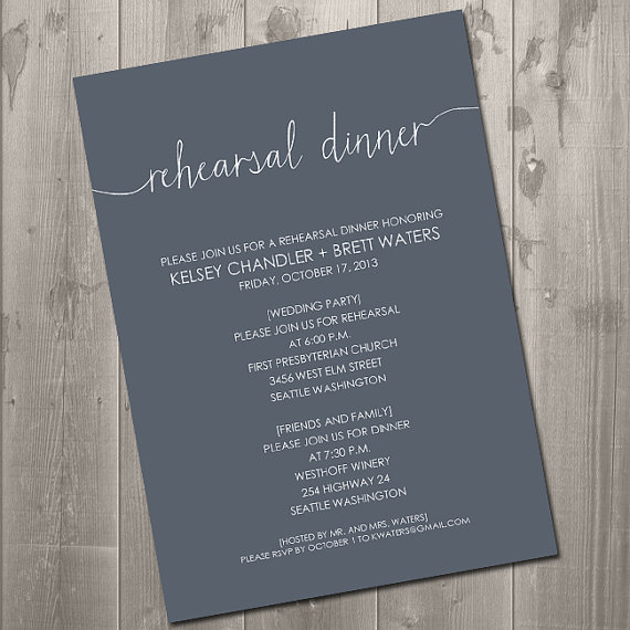 Diy Rehearsal Dinner Invitations for your inspiration to make invitation template look beautiful