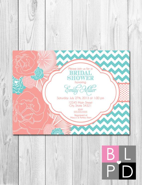 Bridal Shower Birthday Party Bachelorette Party Engagement – Bridal Shower and Bachelorette Party Invitations
