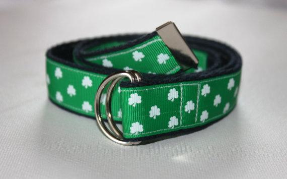 Mariage - Children's D-Ring St.Patricks Day Belt