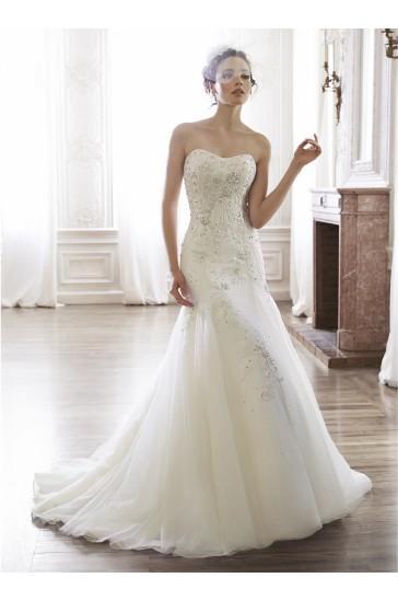 Свадьба - Maggie Sottero Bridal Gown Maylene / 5MT155