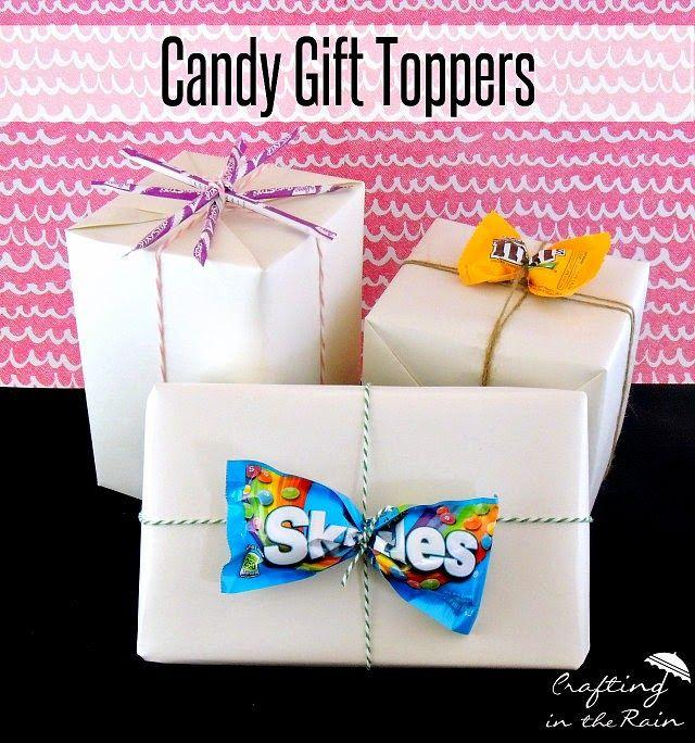 Hochzeit - Candy Gift Toppers