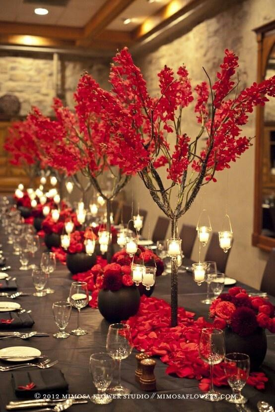 Red Wedding - ♥ Red, Black & White Weddings #2215966 - Weddbook