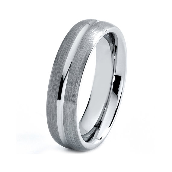 Titanium Wedding Band Men Titanium Rings Mens Wedding Band Titanium Weddin