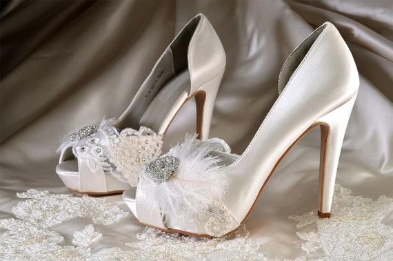 d708111c576c8 Womens Wedding Shoes -Custom Colors 220 - Silk Satin, 4 Inch Heels ...