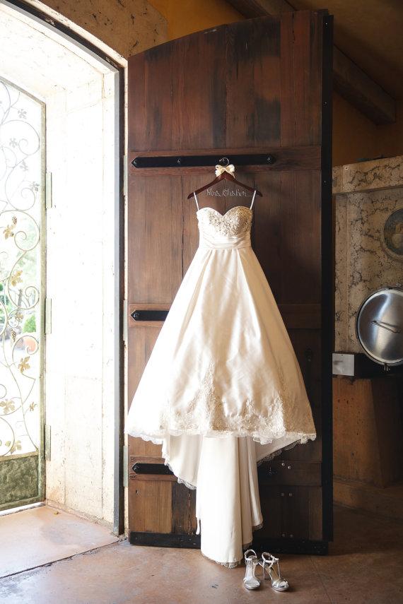 Wedding Hanger, Personalized Hanger, Bride Hanger, Bridal Party ...