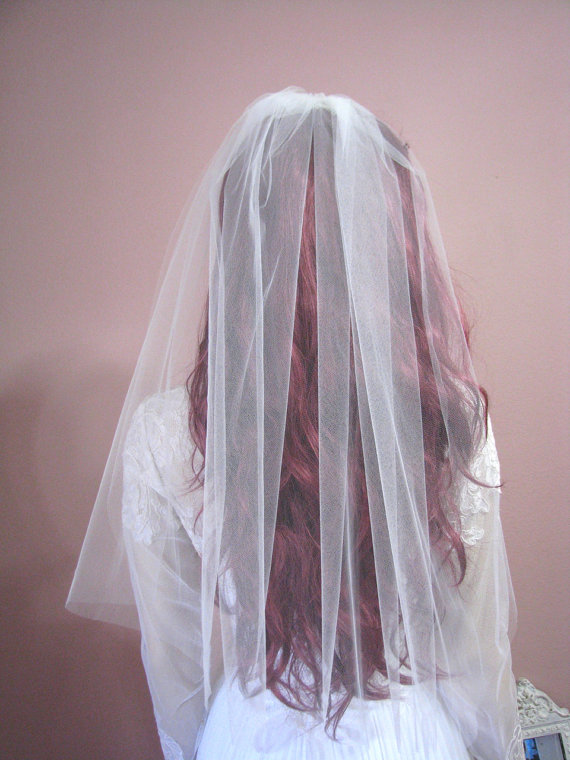 Свадьба - Dreamy Sheer Wedding Veil