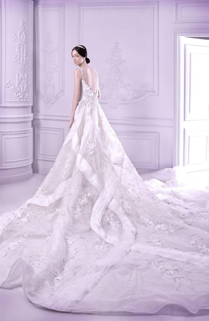 Beautiful Trains/Pretty Back & Side Views Of Wedding Gowns #2216926 ...