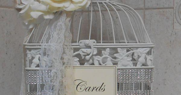 birdcage wedding card holder gold birdcage cardholder