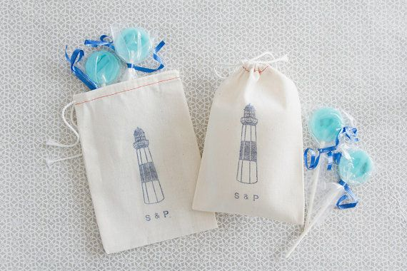 Lighthouse Wedding Favors
