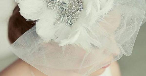 Hochzeit - ❥Tocados Y Velos De Novias ❥