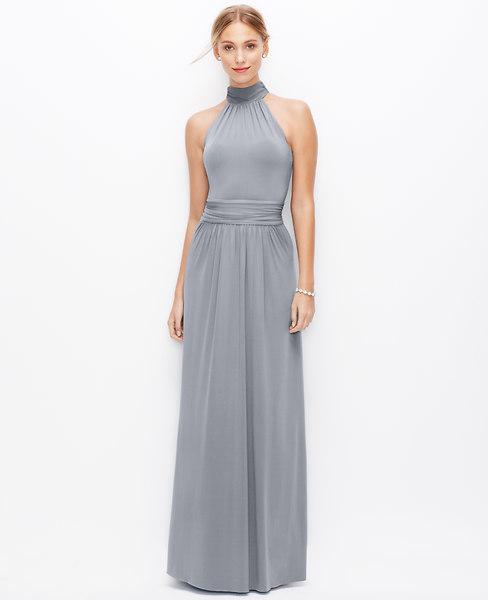 Mariage - Satin Jersey Halter Gown