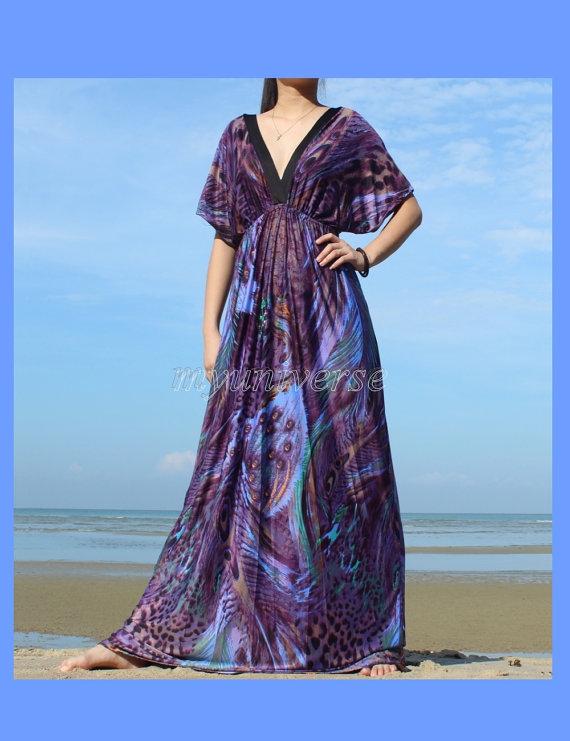 Prom Dress Women Plus Sizes Clothing Long Maxi Dress Peacock