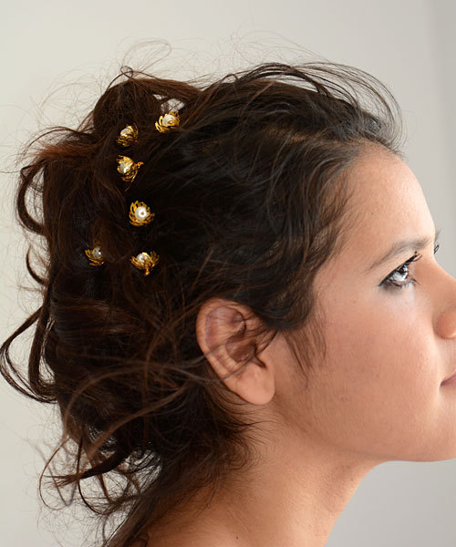 Hair Pins : hair-pins-gold-and-pearl-hair-pins-bridal-hair-pin-wedding-accessories ...