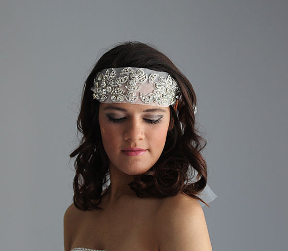 Cool Bridal Crystal Headband Wedding Headband Wedding Veil Bridal Short Hairstyles For Black Women Fulllsitofus