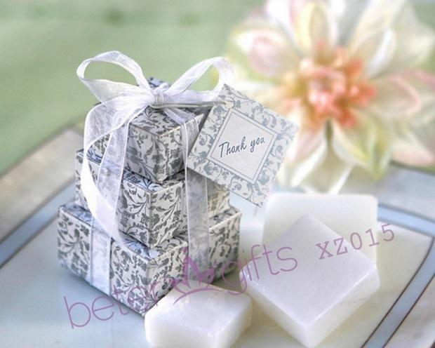 Boda - BeterGifts XZ015 Stacked Gift Boxed Soap Wedding Favours