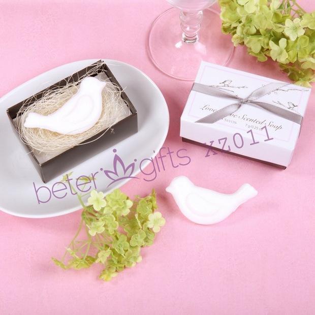 Mariage - Valentine's Party Love Birds Soap Baptism Favours XZ011