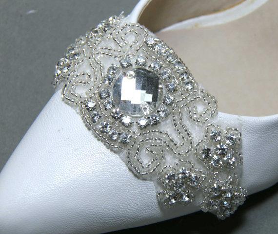 زفاف - Bridal Shoe Clips,Wedding Shoe Clips,Crystal Shoe Clips,Crystal Applique Shoe Clips,Vintage Shoe Clips,Bridesmaids Shoe Clips,Shoe Brooch
