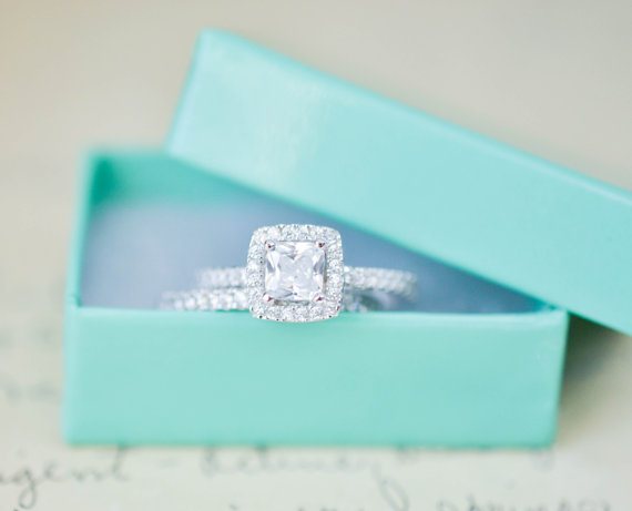 Ring Sterling Silver Wedding Ring Small Ring Wedding Ring Set