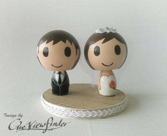 Hochzeit - Customise Wedding Cake Topper