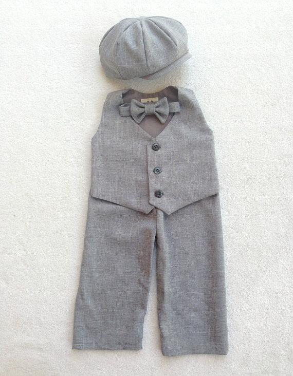 زفاف - Ring bearer outfit, Ring Bearer, Newsboy Outfit, Baby boy suit, Boys suits, Baby boy wedding outfit, Baby ring bearer, toddler ring bearer
