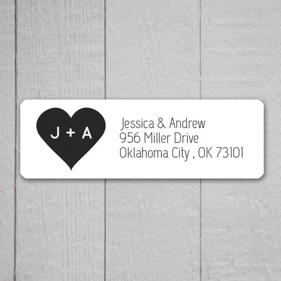 mailing address labels for wedding invitations  Wedding Invitation Return Address Labels, Wedding Stickers, Return ...