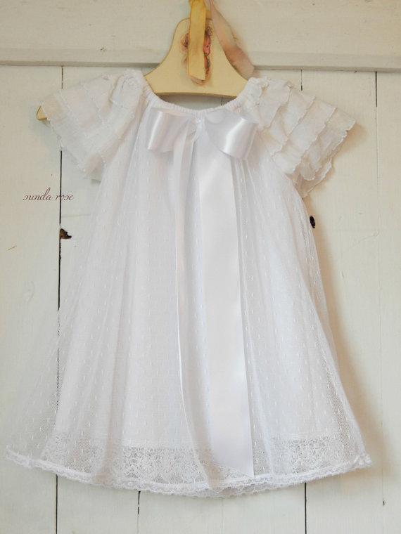 Vintage Inspired Girls Dress