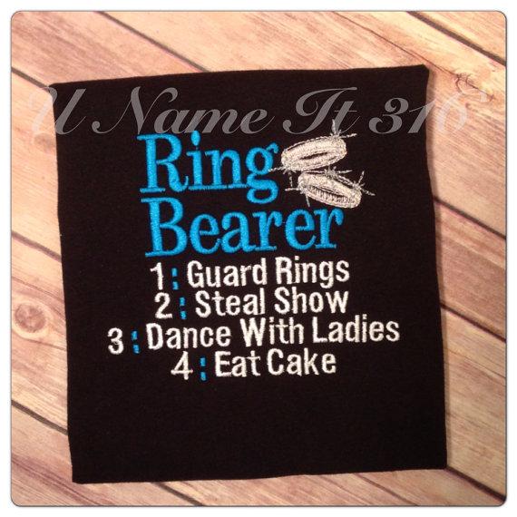 Wedding - Ring Bearer Shirt
