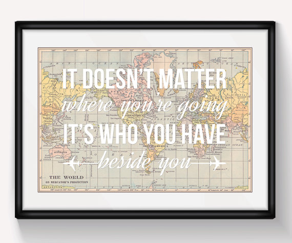 Wanderlust world map poster wedding print travel wedding map art wanderlust world map poster wedding print travel wedding map art personalised wedding gift valentine gift engagement bridesmaid gift gumiabroncs Image collections