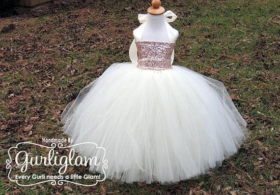 زفاف - Light Pink Sequin Tutu Dress, Sequin Flower Girl Dress, Sequin Flower Girl Tutu Dress, Birthday Tutu Dress, Flower Girl Dress