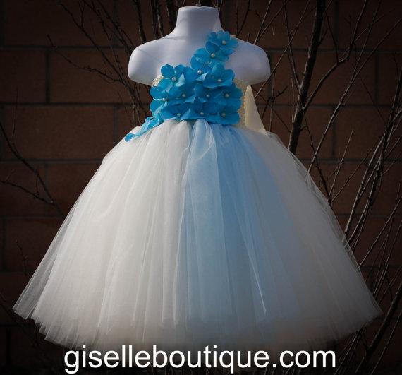 Baby Blue Tutu Dress Blue Tutu Dress Baby Tutu