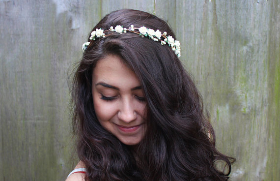Bridal Flower Crown - Bridal Hair Accessories f7e0cd22889