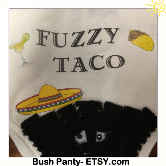 picture relating to Fuzzy's Tacos Printable Menu named Fuzzy Taco- Bush Panties TM For Your Bachelorette Occasion
